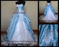 robe de mariã e bleue robe de mariée bleu ciel boutique robe d ange wifeo