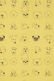 40 best dog fabrics and wall papers images on pinterest dog