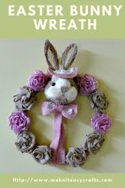 easter bunny wreath make it easy crafts how to make the best easter bunny wreath