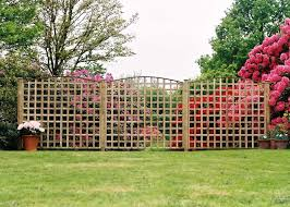 wooden trellis panelss duncombe sawmill local and uk delivery