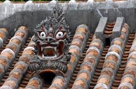 japanese guard dog statues okinawa shisa the half dog half lion that is everywhere japan