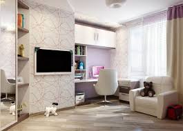 modern teenage bedroom ideas colorful rectangle wall panel