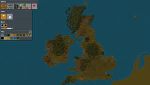 Map Of The British Isles Im Making A Big Map Of The World And I Just Finished The British