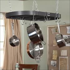 kitchen ceiling mounted pot rack pothook wall hanging pots pan