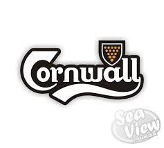 Cornwall Flag Cornwall Flag Stickers Car Stickers