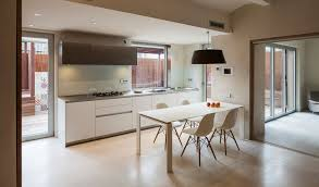 Corian Dining Tables Architecture Kitchen Family Home By Zest Architecture In