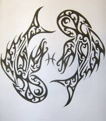 tattoos of pisces fish designs of tattoos
