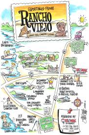 Old Town San Diego Map by Cartoon Maps