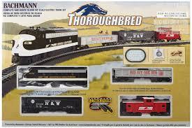 bachmann trains thoroughbred ready to run ho scale set