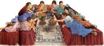 cuisine de la rome antique un repas banquet dans le triclinium la cuisine et la