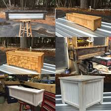 different style flower boxes window boxes and planters cedar
