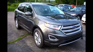 Ford Edge Safety Rating 2016 Ford Edge Magnetic Youtube