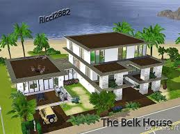 Sims 3 Mansion Floor Plans House Plans Home Plans Amp Garage The Sims 3 House Designs Modern