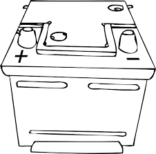 battery coloring page handipoints