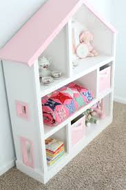 White Girls Bookcase New Pink Childrens Bookcase 61 In Tall Bookcases For Sale With