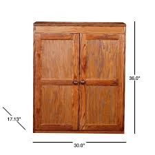 wooden kitchen pantry cupboard concepts in wood wood kitchen pantry cabinet 36 in with 2