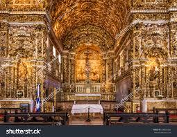 salvador brazil may 7 baroque architecture stock photo 300822365