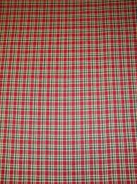 holiday plaid fabric cotton plaid fabric quilt fabric home