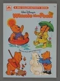 112 2547 walt disney u0027s winnie pooh big color activity