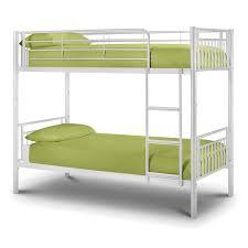 Julian Bowen Bunk Bed Bowen Atlas Bunk Bed Metal White