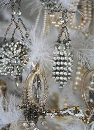 rhinestone earrings clever ornaments for a small silver