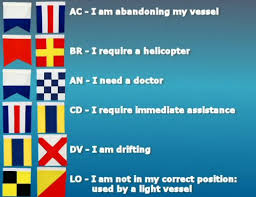 common 2 letter messages in nautical navy signal flags