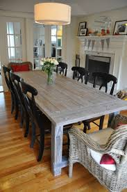 white wood dining room table ana white farmhouse table with extensions diy projects