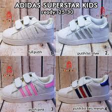 Jual Adidas Anak jual adidas superstar anak 4 warna putih sepatu anak di lapak bima