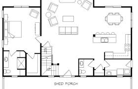 open floor plan home plans cottage home plans with loft open floor plan house southern country