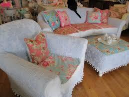 Shabby Chic Slipcovered Sofa Vintage Chic Furniture Schenectady Ny February 2011