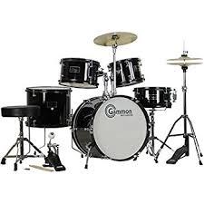 black friday drum set amazon com gammon percussion full size complete 5 piece