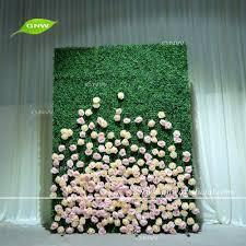 wedding backdrop grass gnw flw1508008 high quality hydrangea flower wall wedding backdrop