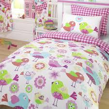 single duvet cover sets 100 cotton bedding boys girls animals