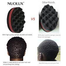 hair twist sponge amazon com nuolux hair sponge brush for twists coils curls in