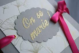 mariage gris que faire faire part mariage ginkgo gris proposé par www faire part