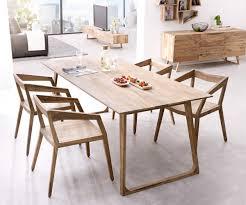 Esszimmertisch Design Designer Esstisch Wyatt 200x90 Cm Sheesham Natur Möbel Tische
