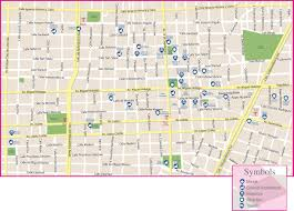 Mexico City Map by Guadalajara Historic City Center Map