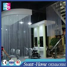 polyester string curtain vertical blinds for room divider buy