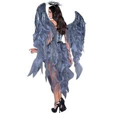 angels and demons halloween party dark angel u0027s desire womens dress costume buycostumes com