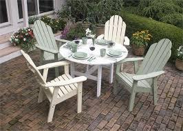 Adirondack Patio Furniture Sets Attractive Adirondack Patio Dining Set Patio Sets Pinterest