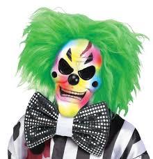 killer clown mask colour change killer clown mask blossom costumes