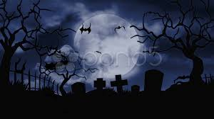 halloween stock footage moon over a scary cemetery hd u0026 4k stock footage 12247823