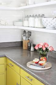 Diy Concrete Over Laminate Countertops
