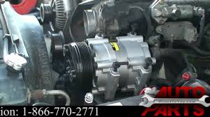 Ford Explorer Water Pump - 1996 ford explorer ac compressor repair part 1 ford explorer