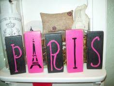 Paris Decor Pink And Black Nesting Boxes Paris Decor By Teresaphillips On Etsy