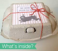 easter egg surprises diy cheeky bunny easter egg green dot