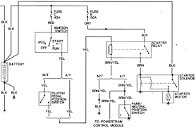 1991 dodge dakota ignition wiring diagram questions with