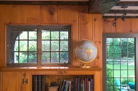 Pine Ceiling Boards by Knotty Pine Walls Family Room Traditional With Board And Batten