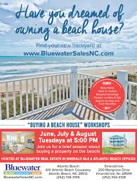buying a beach house workshop bluewater nc