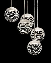 cluster sphere pendant light 5 lights by studio italia